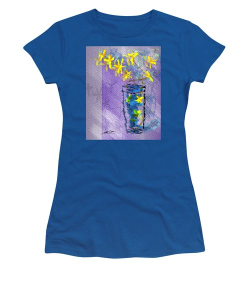 Flowers In Vase Women's T-Shirt (Athletic Fit)