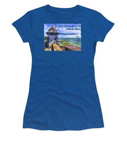 Fort San Juan Puerto Rico Shirt Women's T-Shirt