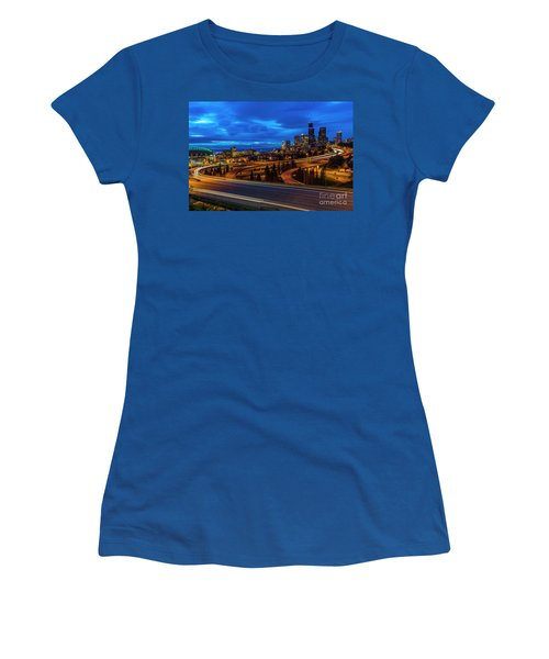 Freeway 5 North To Seattle Women's T-Shirt