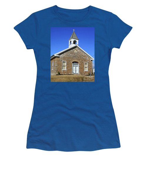 Freedonia Baptist Church Women's T-Shirt (Athletic Fit)