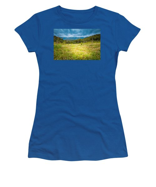 From Winter To Spring Women's T-Shirt (Junior Cut) by Stavros Argyropoulos