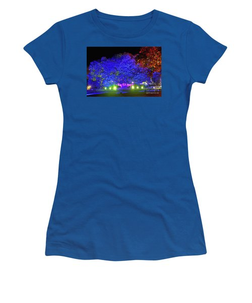 Women's T-Shirt (Athletic Fit) featuring the photograph Garden Of Light By Kaye Menner by Kaye Menner