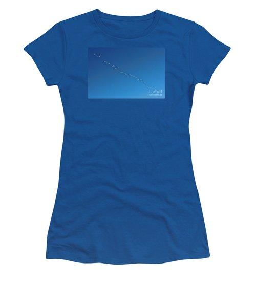 Geese On The Run Women's T-Shirt