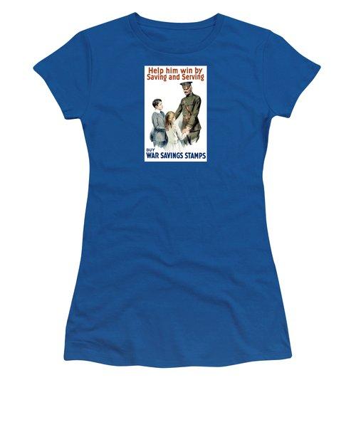 General Pershing - Buy War Saving Stamps Women's T-Shirt
