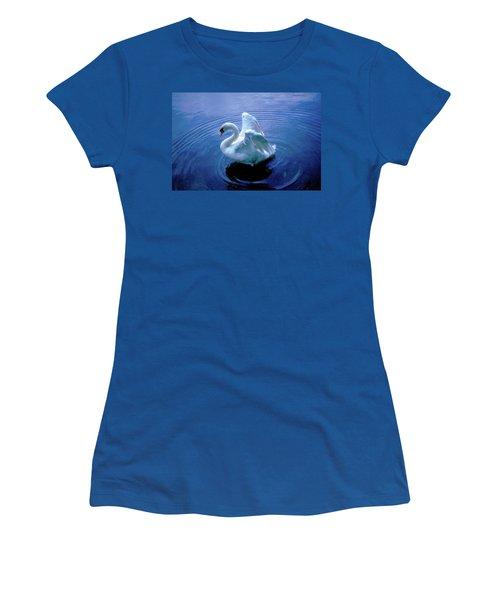 Women's T-Shirt (Junior Cut) featuring the photograph Gentle Strength by Marie Hicks