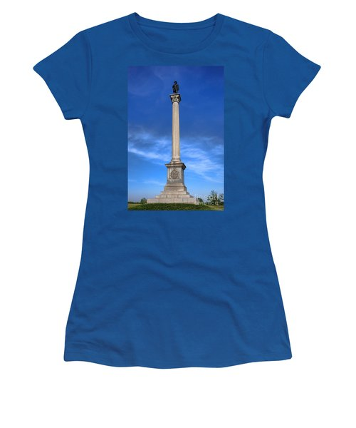 Gettysburg National Park Vermont Stannard Brigade Memorial Women's T-Shirt