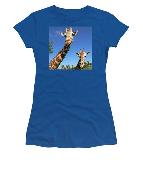 Giraffes Women's T-Shirt