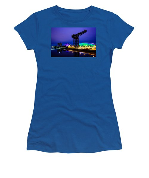 Glasgow At Night Women's T-Shirt
