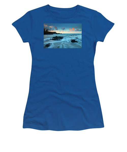 Glass Beach Dawn Women's T-Shirt (Athletic Fit)