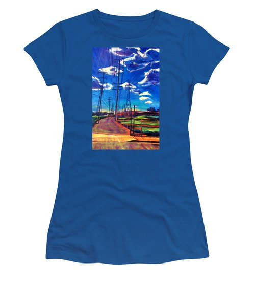 Glorious Afternoon Women's T-Shirt (Athletic Fit)