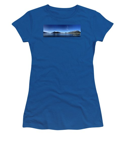 Women's T-Shirt (Junior Cut) featuring the photograph Glowing In The Blue by Victor K