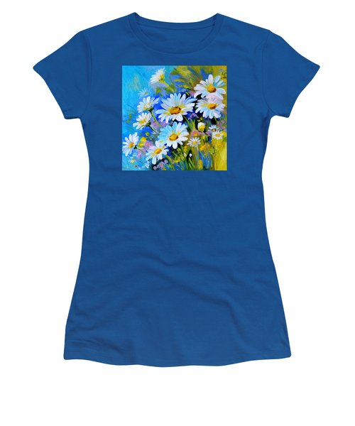 God's Touch Women's T-Shirt (Junior Cut) by Karen Showell