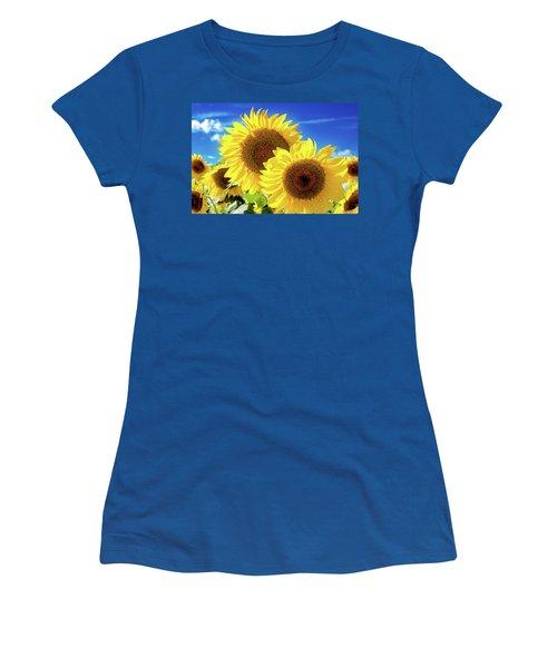 Women's T-Shirt (Junior Cut) featuring the photograph Gold by Greg Fortier