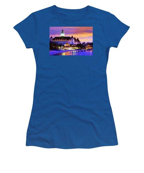 Grand Floridian Women's T-Shirt (Athletic Fit)