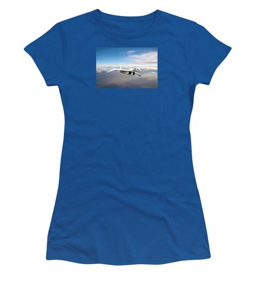 Great White Hope Xb-70 Women's T-Shirt (Junior Cut) by Peter Chilelli