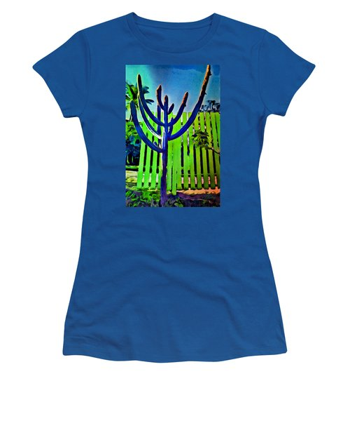 Green Fence Women's T-Shirt