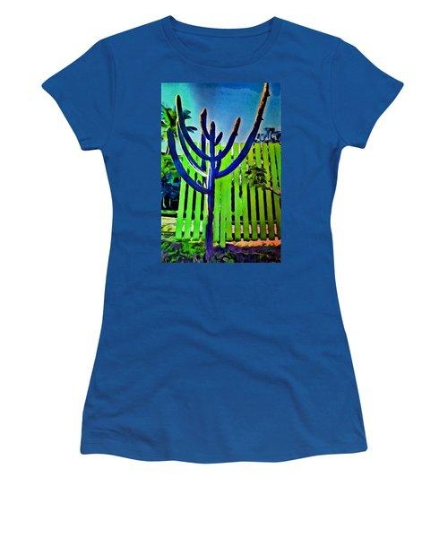 Green Fence Women's T-Shirt