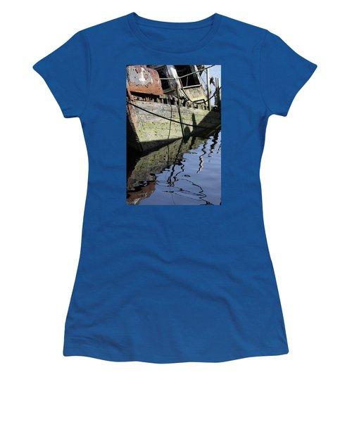 Half Sunk Boat Women's T-Shirt