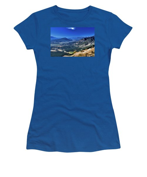 Hang Gliders Point Of View Women's T-Shirt (Athletic Fit)