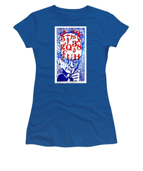 He Has A Lot On His Mind Women's T-Shirt (Athletic Fit)