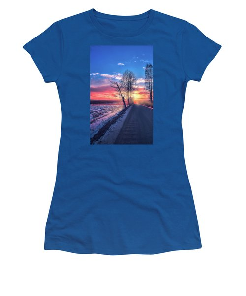 Heavenly Journey Women's T-Shirt (Athletic Fit)