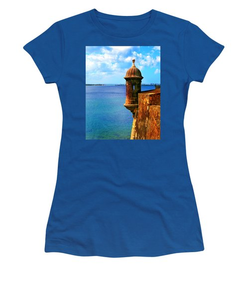 Historic San Juan Fort Women's T-Shirt (Athletic Fit)