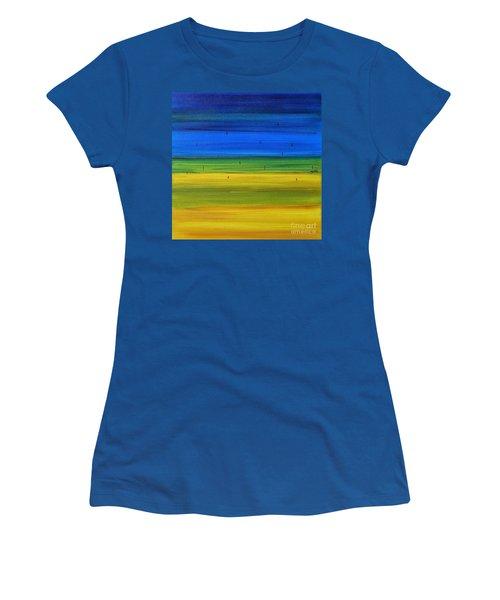 Horizon Women's T-Shirt (Athletic Fit)