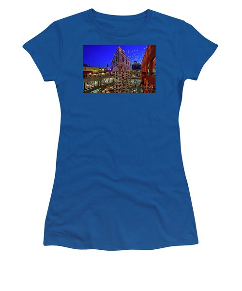 Horton Plaza Shopping Center Women's T-Shirt (Junior Cut) by Sam Antonio Photography