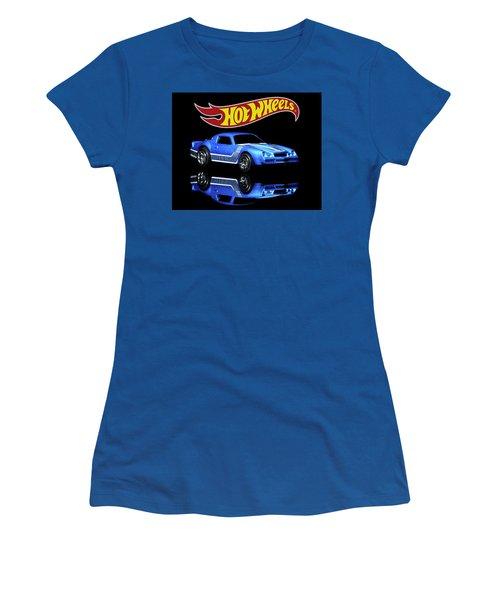Hot Wheels Gm Camaro Z28 Women's T-Shirt