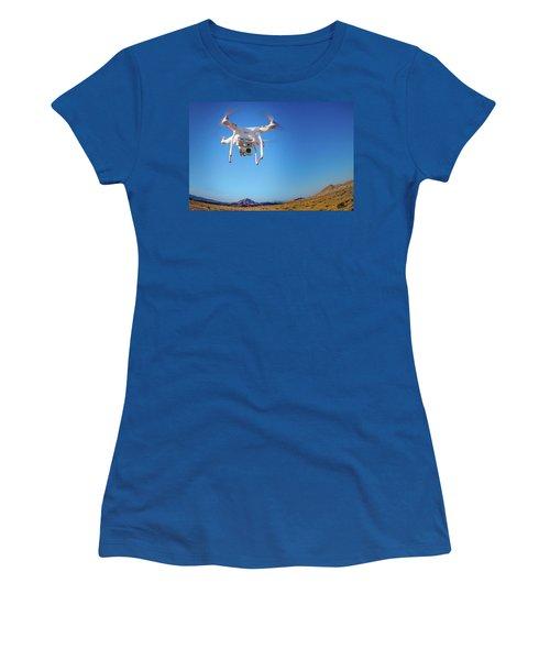 Hover Women's T-Shirt (Junior Cut) by Mark Dunton