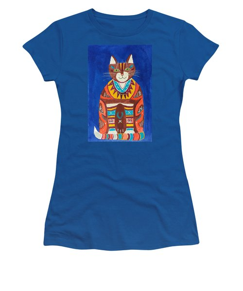 Huey Cat Women's T-Shirt (Athletic Fit)