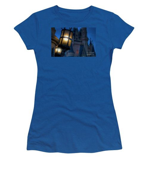 I Will Leave The Light On Women's T-Shirt (Athletic Fit)