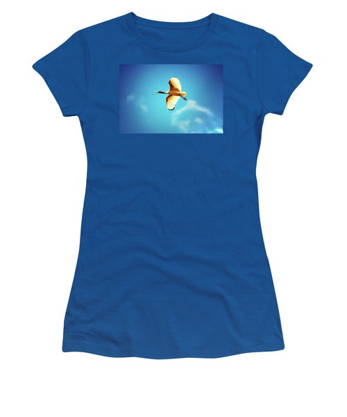 Ibis Of Light Women's T-Shirt (Athletic Fit)