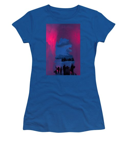 Ice And Colors  Women's T-Shirt (Athletic Fit)
