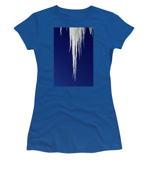 Icicles Women's T-Shirt (Athletic Fit)