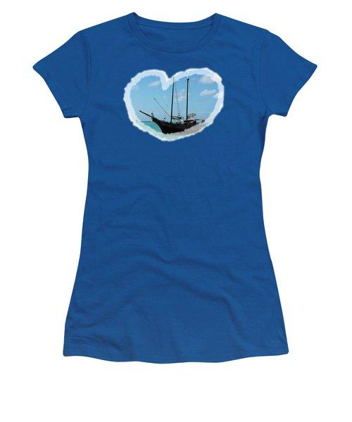In My Heart Women's T-Shirt (Junior Cut) by David and Lynn Keller