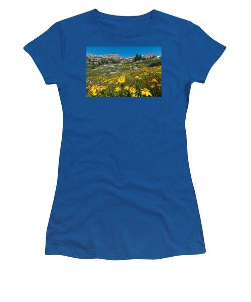 Indian Peaks Summer Wildflowers Women's T-Shirt