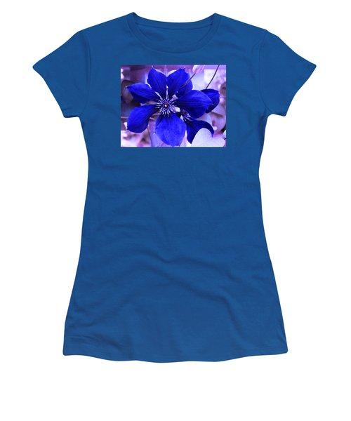 Indigo Flower Women's T-Shirt