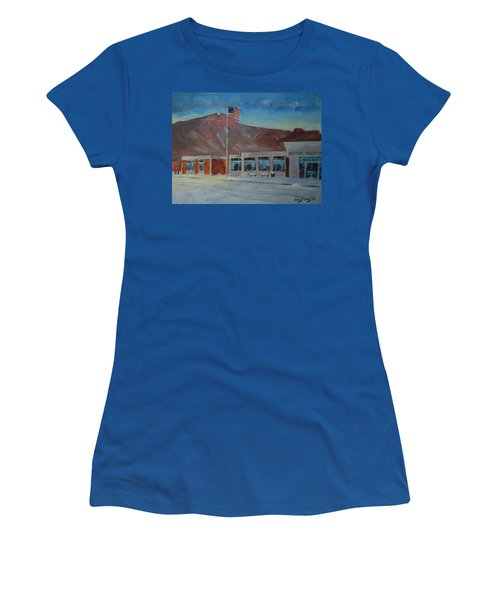 Infinite Horizons Women's T-Shirt (Junior Cut) by Len Stomski