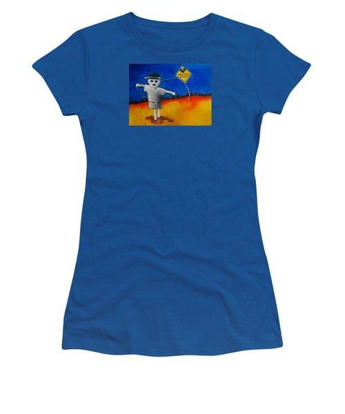 Inhalation Hazard Women's T-Shirt (Junior Cut) by Jean Cormier