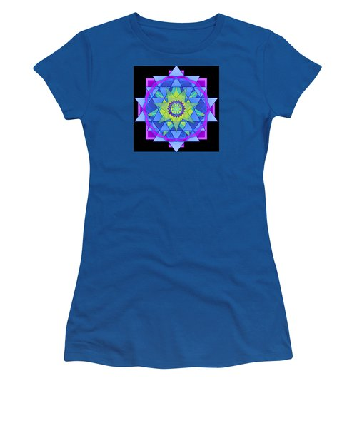 Inner Light Mandala Women's T-Shirt (Junior Cut)