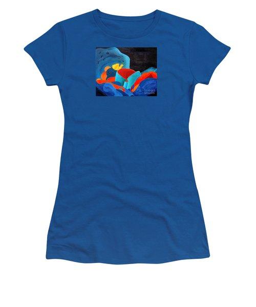 Inorganic Incandescence Women's T-Shirt (Junior Cut) by Lynne Reichhart