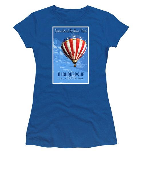 International Balloon Fiesta Women's T-Shirt (Athletic Fit)
