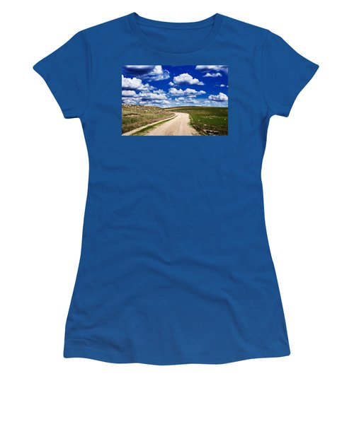 Into The Clouds Women's T-Shirt (Athletic Fit)