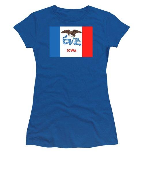 Iowa State Flag Women's T-Shirt
