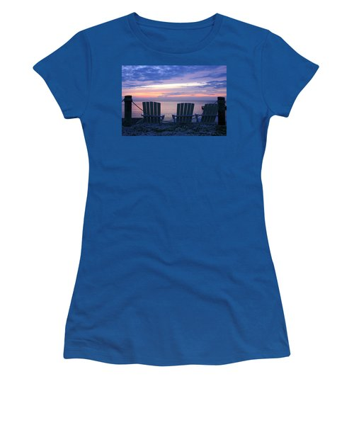 Island Time Women's T-Shirt (Junior Cut) by Catherine Alfidi