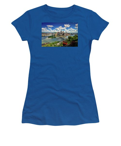 Women's T-Shirt (Junior Cut) featuring the photograph It's A Beautiful Day In The Neighborhood by Emmanuel Panagiotakis