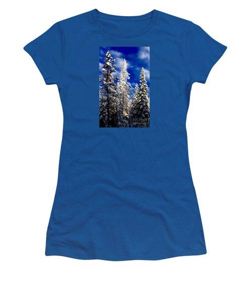 Its Now Crystal Clear Women's T-Shirt (Junior Cut) by Jennifer Lake