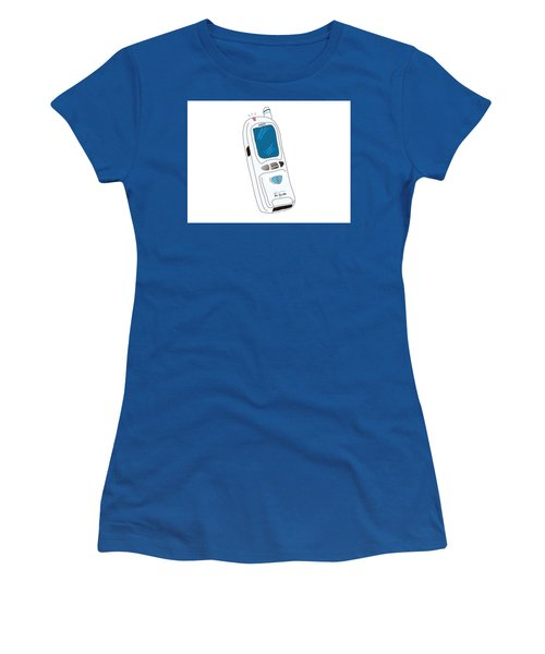 Japanese Classic Phone Women's T-Shirt (Athletic Fit)