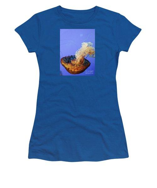 Jelly Ballet Women's T-Shirt (Junior Cut) by Beth Saffer